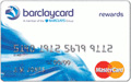 Barclaycard Rewards MasterCard - Excellent Credit